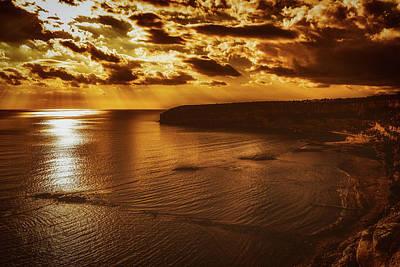 Photograph - Beautiful Sunset Over Cyprus by Dimitris Vetsikas