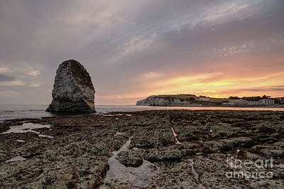 Photograph - Beautiful Sunset Over Freshwater Bay With Standing Stone by Clayton Bastiani