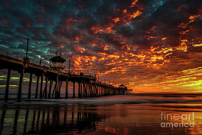 Photograph - Beautiful Sunset by Peter Dang