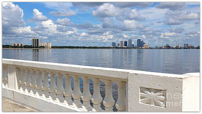 Beautiful Tampa Balustrade Art Print by Carol Groenen