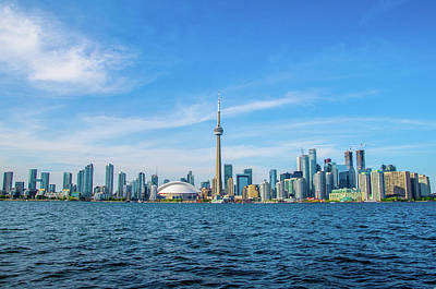 Photograph - Beautiful Toronto Skyline From Cruise by Jeff at JSJ Photography