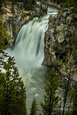 Photograph - Beautiful Upper Falls by Robert Bales
