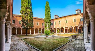 Photograph - Beautiful Venetian Patio by JR Photography