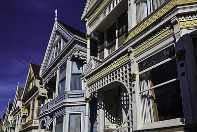 Painted Lady Photograph - Beautiful Victorian Homes by Garry Gay