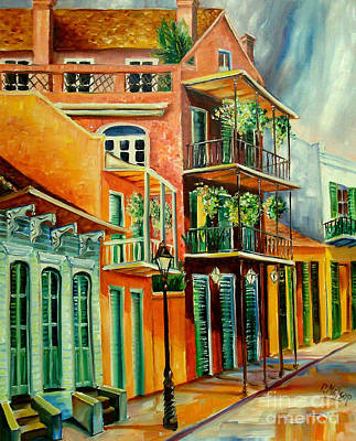 French Quarter Painting - Beautiful Vieux Carre by Diane Millsap