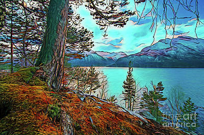 Photograph - Beautiful View 18518 by Ray Shrewsberry