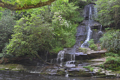Photograph - Beautiful View Of Tom's Branch Falls by rd Erickson