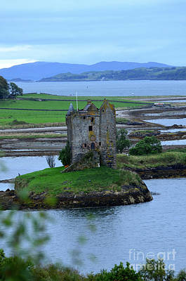 Photograph - Beautiful Views Of Castle Stalker by DejaVu Designs