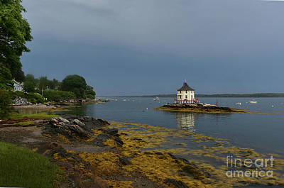 Ocatagon Photograph - Beautiful Views Of The Nubble In Maine by DejaVu Designs