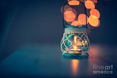 Photograph - Beautiful Vintage Candlestick by Anna Om