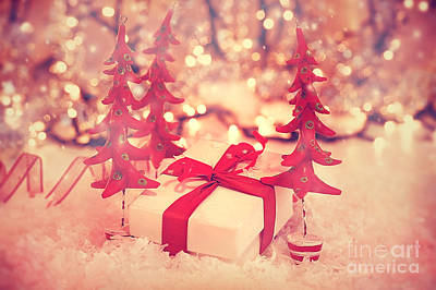 Photograph - Beautiful Vintage Christmas Gift by Anna Om