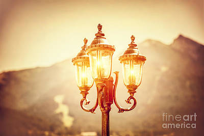 Photograph - Beautiful Vintage Street Lamp by Anna Om