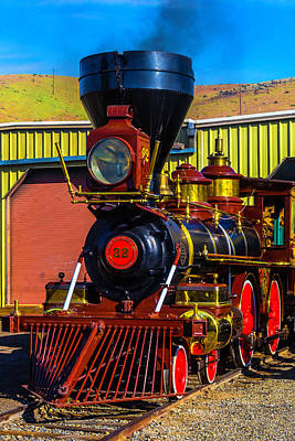 Virgina Photograph - Beautiful Virgina And Truckee Steam Train by Garry Gay
