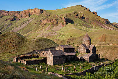 Photograph - Beautiful Vorotnavank Monastery At Evening, Armenia by Gurgen Bakhshetsyan