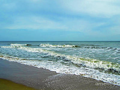 Photograph - Beautiful Wabasso Beach by D Hackett