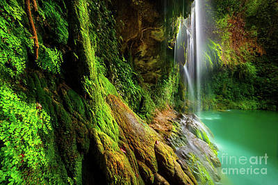 Photograph - Beautiful Waterfalls by Anna Om