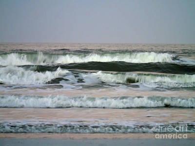 Photograph - Beautiful Waves At New Smyrna by D Hackett