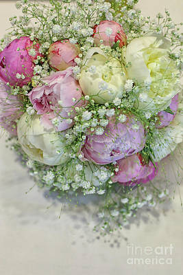 Photograph - Beautiful Wedding Bouquet by Patricia Hofmeester