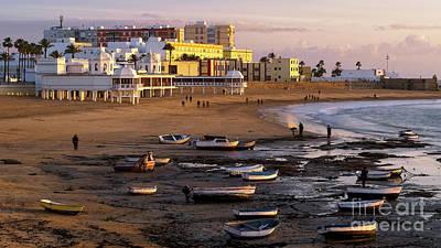 Photograph - Beautiful Winter Day At La Caleta Beach Cadiz Spain by Pablo Avanzini