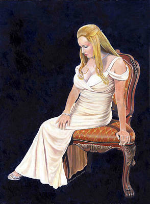 Painting - Beautiful Woman by Douglas Castleman