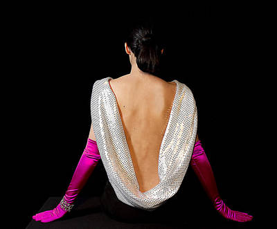 Photograph - Beautiful Woman's Back by Trudy Wilkerson
