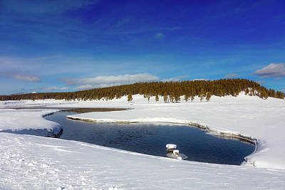 Photograph - Beautiful Yellowstone River by L O C