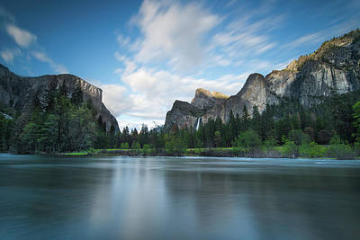Granite Photograph - Beautiful Yosemite by Larry Marshall