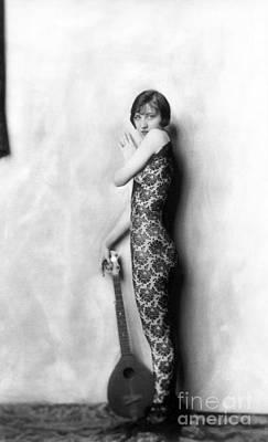 Photograph - Beautiful Ziegfeld Girl by R Muirhead Art