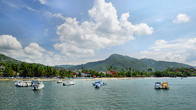 Photograph - Beautiful Zihuatanejo by Jim Walls PhotoArtist