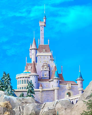 Beauty Mark Photograph - Beauty And The Beast Castle by Mark Andrew Thomas