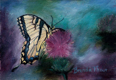 Painting - Beauty by Brenda Thour