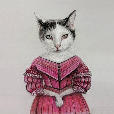Beautiful Cats Drawings Page 4 Of 4 Fine Art America