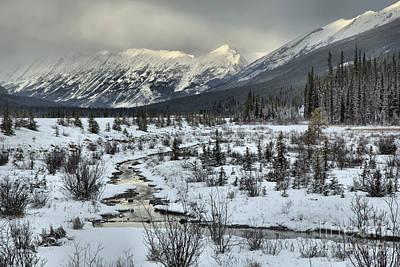 Photograph - Beauty Creek December Landsape by Adam Jewell