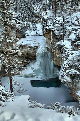 Photograph - Beauty Creek Frozen Falls by Adam Jewell