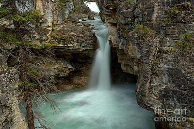 Beauty Creek Hidden Waterfall Canyon Art Print