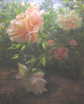 Painting - Beauty Falls To Grace 2 by Bill Puglisi