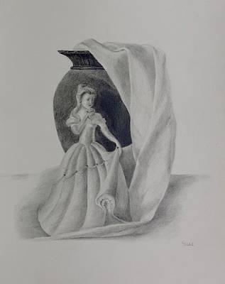 Drawing - Beauty by Grace Diehl