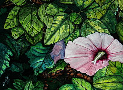Beauty In Bloom Art Print by Willie McNeal