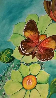 Beauty In Butterflies Art Print