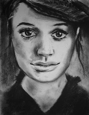 Drawing - Beauty In Charcoal by Parag Pendharkar