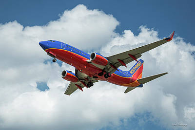 Photograph - Beauty In Flight 2 Southwest Jet N292wn Art by Reid Callaway
