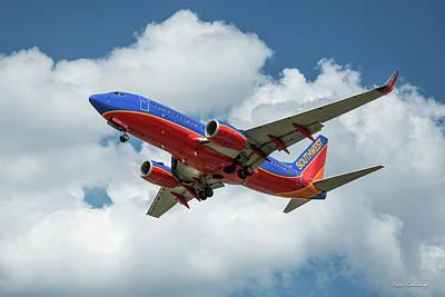 Photograph - Beauty In Flight 2 Southwest Jet N292wn Art by Reid Callaway