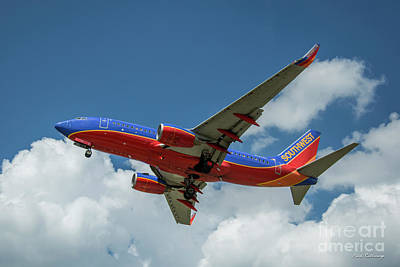 Photograph - Beauty In Flight Southwest Jet N499wn Art by Reid Callaway