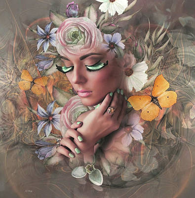 Erotica Mixed Media - Beauty In Floral by G Berry