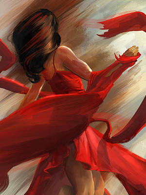 Beauty In Motion Art Print