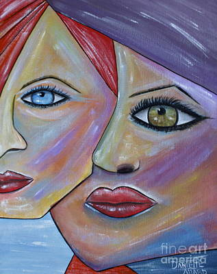 Graphics Painting - Beauty In Ourselves by Danielle Allard