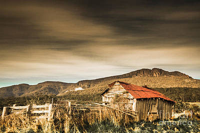 Old Rustic Building Wall Art - Photograph - Beauty In Rural Dilapidation by Jorgo Photography - Wall Art Gallery