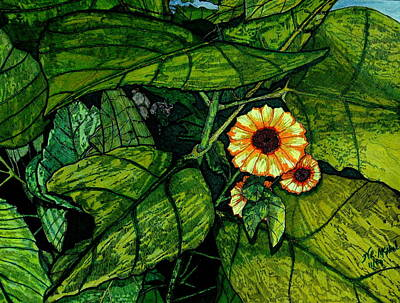 Beauty In The Midst Art Print by Willie McNeal