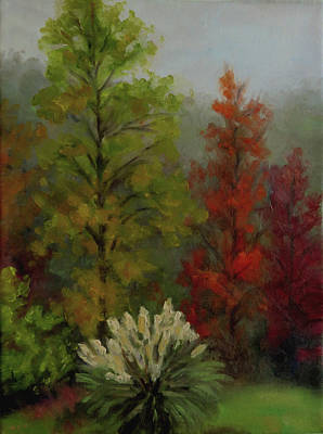 Wall Art - Painting - Beauty In The Mist by Vicki Van Vynckt