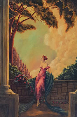 Painting - Beauty In The Old Style by John Entrekin